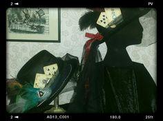 Burlesque Alice in wonderland top hats