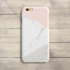 Rose marbre étui iPhone SE cas 6 s plus bois par iPhoneCaseUA