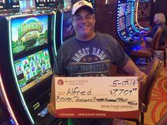 Mr. Alfred won $7,704.98! #WinningMoment #WindCreekAtmore