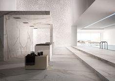 "#HelvexbyDesigners- @Fiandre_Tile ""Calacatta Maximum"". ""Marmi Maximum"" http://www.helvexbydesigners.com"
