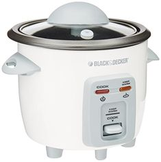 Black Decker Rice Cooker White * Continue to the product at the image link. (This is an affiliate link) 3 Cup Rice Cooker, Rice Cooker Steamer, Kitchen Utensils, Kitchen Dining, Small Appliances, Kitchen Appliances, Rainbow Wig, Iphone Leather Case, Bento Box Lunch