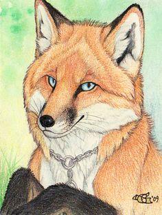 Foxxz Badge by Goldenwolf.deviantart.com on @deviantART