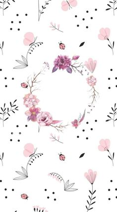 Cat Pattern Wallpaper, Flowery Wallpaper, Cute Wallpaper For Phone, Cute Disney Wallpaper, Wallpaper App, Wallpaper Iphone Disney, Tumblr Wallpaper, Screen Wallpaper, Cute Backgrounds