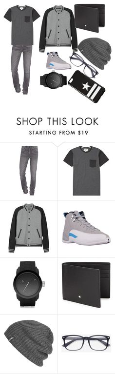 """my kind of guy style"" by elenajaneblack ❤ liked on Polyvore featuring True Religion, Billabong, L.L.Bean, Diesel, Montblanc, Outdoor Research, Givenchy, men's fashion and menswear"