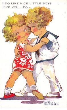 Agnes Richardson postcard.