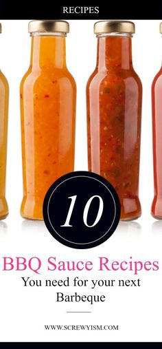 10 Great BBQ Sauce Recipes – Screwyism 10 Great BBQ Sauce Recipes Check out this great list of homemade barbeque sauce recipes. There is something for everyone on this list, healthy, easy recipes for pork, chicken, beef and fish. Memphis Bbq Sauce Recipe, Blueberry Bbq Sauce Recipe, Chipotle Bbq Sauce Recipe, Homemade Barbeque Sauce, Barbecue Sauce Recipes, Bbq Sauces, Grilling Recipes, Vegetarian Grilling, Healthy Grilling
