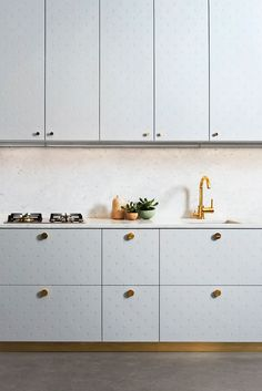 """SuperfrontThe furniture version of burning hours on Nike's online ID service. Swedish Ikea hackers Superfront set up shop in early 2013 with the aim to provide a designer answer to Ikea's basic range of Metod cabinets. They've since expanded to sideboards, TV benches, wardrobes and even bathroom sinks. Founder Monica Born says """"we started to see a pattern amongst friends in making something unique out of the Ikea cabinets. Like adding a stone top, or painting the cabinet. We ourselves had…"""