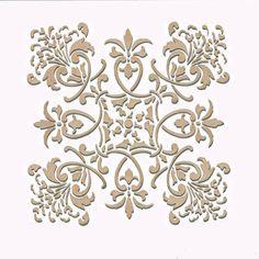 Wall Stencil | Small Florence Tile Stencil | Royal Design Studio