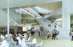 Gallery - Oma Wins Competition For École Centrale Engineering School In Saclay, France - 2
