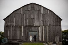 Wedding pic outside Harvey's hideaway
