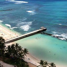 Waikiki Beach...Where I spent one incredible week
