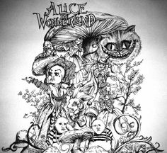 ALICE AND WONDERLAND DRAWINGS | Alice in Wonderland by ~mynamescrizelle on deviantART