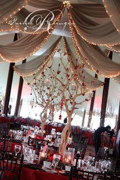 A Country Wedding With A Vintage Twist! {Wedding Decor Toronto} - Wedding Decor Toronto Rachel A. Red Wedding, Perfect Wedding, Fall Wedding, Apricot Wedding, Wedding 2017, Wedding Wishes, Christmas Wedding, Wedding Bells, Wedding Stuff