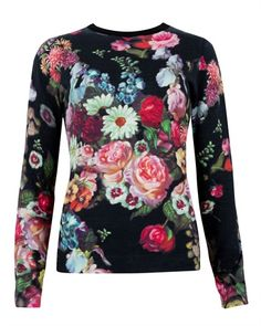 Ted Baker EDRYSS - Oil painting print jumper