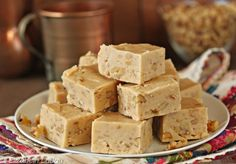Made with real maple syrup, this maple walnut fudge is utterly delicious and filled with fall flavors. Learn the tricks to this old-fashioned fudge recipe. Maple Candy Recipe, Maple Walnut Fudge Recipe, Maple Syrup Recipes, Real Maple Syrup, Candy Recipes, Dessert Recipes, Fall Recipes, Fall Desserts, Cookies