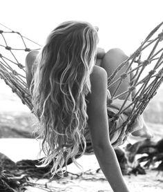 Summer beach hair.!!!! I wish my hair would do this !!