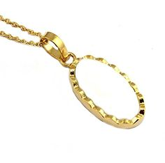 Zeva jewels White Agate 24k Gold Plated Pendant with chai... https://www.amazon.in/dp/B077MFBH5Y/ref=cm_sw_r_pi_dp_U_x_VzLkAbTQ6A5CR