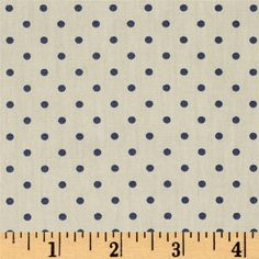 Art Gallery Les Petits Petits Dots Creme from @fabricdotcom  Designed by Amy Sinibaldi for Art Gallery Fabrics, this premium 200 thread count cotton print collection features versatile basics like bias stripes, polka dots, and gingham prints in bright colorways that are perfect for quilting, apparel, and home decor accents. Colors include beige/tan and dusky blue.
