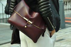 Black Leather + Celine