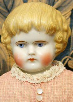 "All Original 14.5"" Highland Mary Antique China Doll C. 1870! from kathylibratysantiques on Ruby Lane"