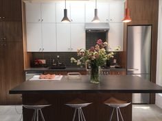 See how this California couple teamed up with the kitchen designers at IKD to turn their guest house into their primary IKEA kitchen. Ikea Sektion Cabinets, Under Counter Lighting, Drawer Lights, Microwave Drawer, Kitchen Planner, Countertop Materials, Refrigerator Freezer, Ikea Kitchen, Large Homes