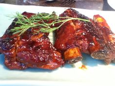 Honey Smoked Spare Ribs@ Yauatcha,Mumbai