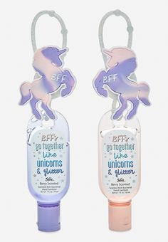 2-Piece Berry Unicorn Anti-Bac (original price, $9.90) available at #Justice