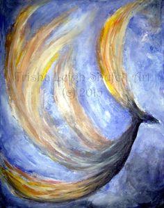 Rise Above (c) 2015 Trisha Leigh Shufelt Art http://trishaleighartinsoul.blogspot.com/