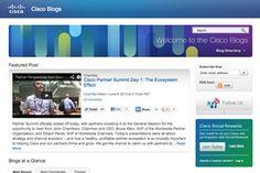 Exemplo de Blog B2B - Cisco | Indiga
