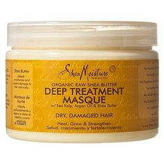 Shea Moisture Deep Treatment Masque- dramatically improved my hair's normally coarse texture.
