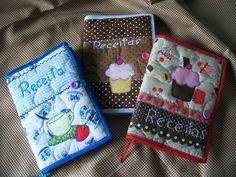 Cadernos em patchwork | Meu Cantinho artesanato | Elo7