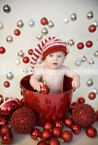 6 month Christmas photo ideas must do next year!!!