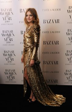 FAB long sequin dress