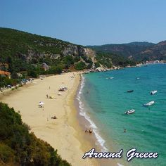 The beautiful beach of Mikro - one of the many hidden gems waiting for you to discover in the Pelion peninsula  https://ift.tt/2yusIn2  #Pelion #Greece #Aroundgreece #visitgreece #holidays #travel #beaches #Pilio #Πηλιο #Πήλιο #Ελλαδα #διακοπες #ταξιδια