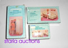 1980's Mini Sindy Sarah Louise Bedroom Furniture Sets Boxed - Suits Pippa Dawn | eBay