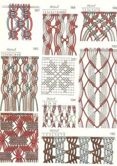 Tons of pop ups on site Radical Photo :: Larger ImageAnd just in case I'll be needing a macrame project.Sample pic no instructionsDifferent Macrame Knots için resim sonucumacrame patterns do you remember when we were all doing this?macramé points b Macrame Design, Macrame Art, Macrame Projects, Diy Projects, Diy Wanddekorationen, Easy Diy, Art Macramé, Macrame Curtain, Micro Macramé