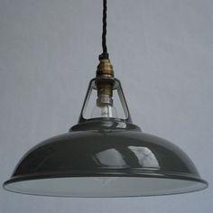 Enamel Workshop Shade from Historic Lighting | Industrial-style pendant lights - 10 of the best | housetohome.co.uk