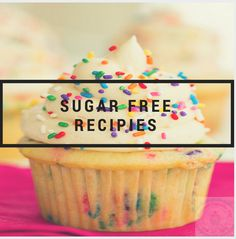 Sugar Free treats that look and taste amazing for National Cupcake Day! www.nationalcupcakeday.ca Sugar Free Cupcakes, Sugar Free Treats, Healthy Treats, Healthy Food, Healthy Recipes, National Cupcake Day, Suga Free, Diabetes, Baking