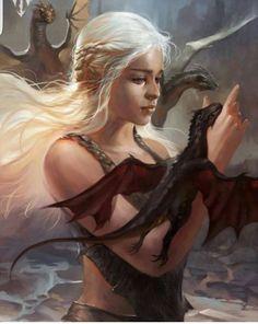 Daenerys Targaryen - Game of Thrones by  Wizyakuza