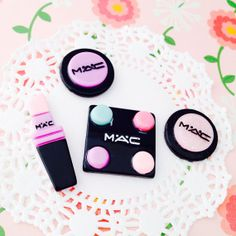 Make Up Cabochon Set in Pastels by Lucifurious on Etsy, $3.79