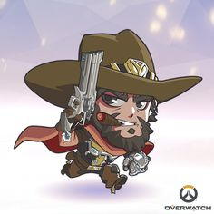 Overwatch - Tiny McCree