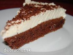 Míša rezy Ice Cream Candy, No Bake Cake, Cake Cookies, Tiramisu, Cheesecake, Cooking Recipes, Ethnic Recipes, Internet, Cakes