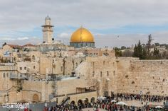 Western Wall And Dome Of The Rock - Jerusalem, Israel