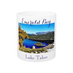 11 oz EMERALD BAY LAKE TAHOE COFFEE MUG