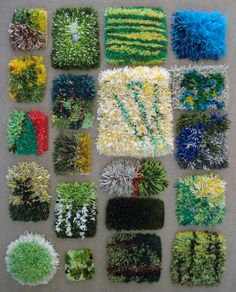 Wonderful mini-rugs done buy students from Savonlinna.