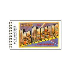 Greetings from Los Angeles Postcard Booklet