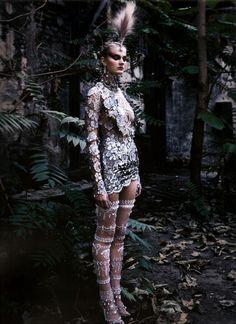 Constance Jablonski for Dior Coutureby Patrick Demarchelier.