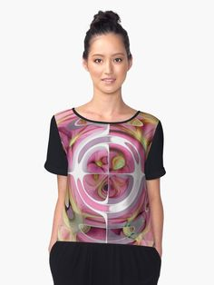"""""""#Tangerine and #Rose #Abstract #Collage"""" #Chiffon #Tops by taiche   Redbubble https://www.redbubble.com/people/taiche/works/26020760-tangerine-and-rose-abstract-collage?asc=u&p=chiffon-top&rel=carousel"""