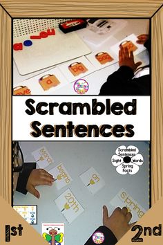 Task Shakti - A Earn Get Problem With These Sentence Scramble Activities, Students Will Practice Building Sentences Every Day In Your Literacy Centers. Start Your Back To School With Fun Language Arts Activities And Your Kids Will Be Reading, Writing, And Teaching Activities, Teaching Ideas, Teaching Resources, The Fun Factory, Elementary Education, Literacy Centers, Language Arts, Back To School, Classroom Management