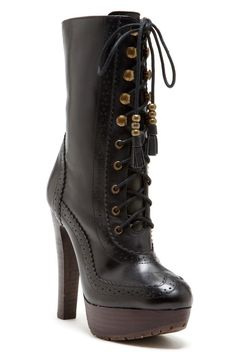 d3ce2231482 Lace up platform boots   NYLA Shoes Heels Boots